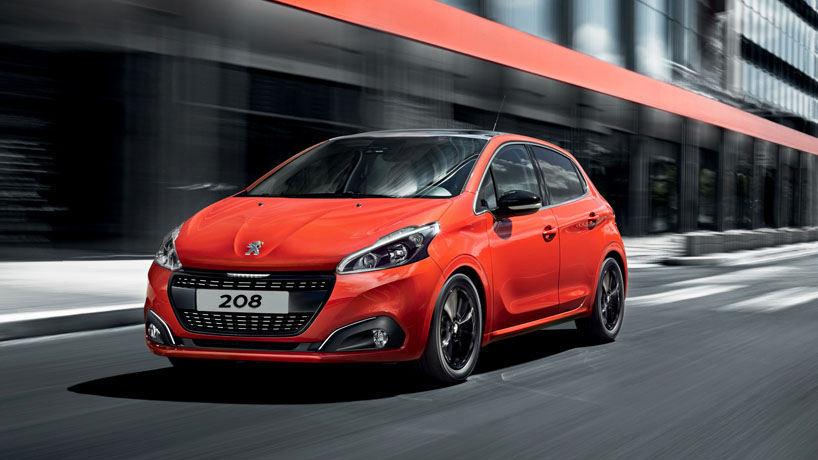 Peugeot 208 Private Lease exterieur voorkant